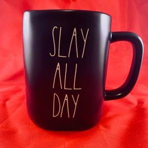 RAE DUNN SLAY ALL DAY COFFEE MUG